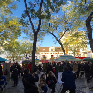 Place du Tertre - where the artists camp out